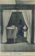 Schilde 's Gravenwezel. Pensionnat Du Saint Coeur De Marie.  Vue D'une Chambrette    (  1910 Met Zegel ) - Schilde