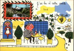 44 - ISSE - Carte Avec Petite Vue - Illustrée Par Jean De Preissac - - France