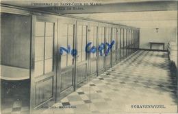 Schilde 's Gravenwezel. Pensionnat Du Saint Coeur De Marie.  La Salle De Bains      (  1910 Met Zegel ) - Schilde