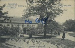 Schilde 's Gravenwezel. Pensionnat Du Saint Coeur De Marie.  Le Préau       (  1910 Met Zegel ) - Schilde