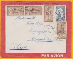 01 Novembre 1926 - Maroc Précurseur Avion - Lettre De Rabat Vers Herzogenbuchse, Suisse - Aéropostale - Morocco (1891-1956)