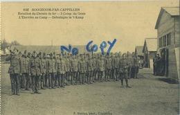 Hoogboom - Kapellen : Bataillon Du Chemin De Fer  (  Carte Carnet ) - Kapellen