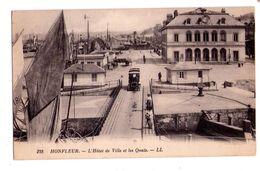 0496 - Honfleur - L'Hotel De Ville Et Les Quais - L.L.éd. - N°128 - - Honfleur