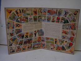 Jeux. 7. Ancien Carton Du Jeu De L'oie De La Prévoyance Sociale. Texte Et Dessins De KARI - Group Games, Parlour Games