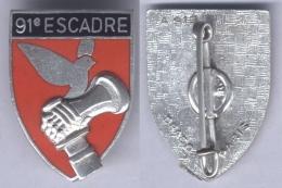Insigne De La 91e Escadre De Bombardement - Mont De Marsan - Armée De L'air