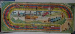 Jeux. 8. Ancien Carton D'un Circuit Automobile - Group Games, Parlour Games