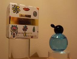 """Moschino  """" SO REAL"""" Eau De Toilette 4.5ml - Miniatures Modernes (à Partir De 1961)"""