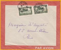 1929 - Maroc Précurseur Avion - Lettre De Rabat Vers Paris, France - Aéropostale - Latécoère - Morocco (1891-1956)