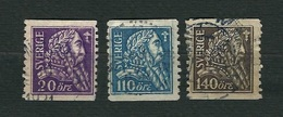 SVEZIA 1921 - 4° Centenario Della LIberazione Di Svezia / Gustav I Wasa - 3 Valori - Yt:SE 151-53 - Svezia