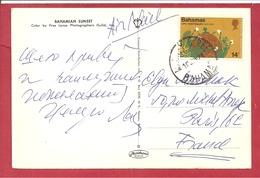 Y&T N°348 BAHAMAS   Vers  FRANCE 1974  2 SCANS - Bahamas (1973-...)