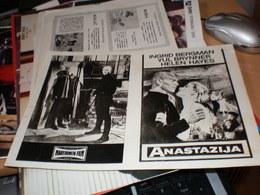 Cinemascope Kino Program Anastazija Ingrid Bergman. Yul Brynner , Helen Hayes - Posters