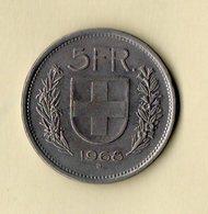 5 Fr - Confoederatio Helvetica - 1968 - Suisse