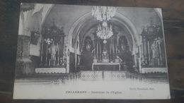 CPA RARE FALLERANS- INTERIEUR DE L'EGLISE- EDITION EMILE DROUHARD- CACHET MILITAIRE- - Andere Gemeenten