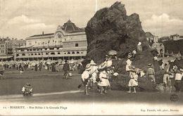 BIARRITZ NOS BEBES A LA GRANDE PLAGE - Biarritz