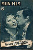 MON FILM ROMAN COMPLET 2 PAGES CENTRALES (LES AMOURS DE NOS VEDETTES) N° 207 MADAME PARKINGTON - Cinema/ Televisione