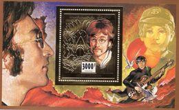Burkina Faso 1996, John Lennon II, BF GOLD - Zangers