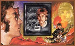Burkina Faso 1996, John Lennon II, BF SILVER - Muziek
