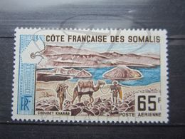 VEND BEAU TIMBRE DE POSTE AERIENNE DE LA COTE FRANCAISE DES SOMALIS N° 44 , X !!! - Neufs