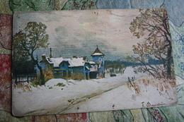 Art.  - OLD Vintage  Postcard  - 1910s Landscape - Paintings