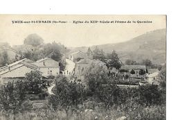 CPA / 52 HAUTE MARNE / VAUX-sur-St_URBAIN / Eglise / Orme De La Quemine En 1918 - France