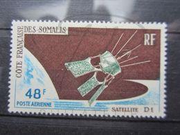 VEND BEAU TIMBRE DE POSTE AERIENNE DE LA COTE FRANCAISE DES SOMALIS N° 48 , X !!! - Côte Française Des Somalis (1894-1967)