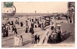 0502 - Malo Les Bains - Terrasse Du Casino Et Digue - L.L.éd. - N°185 - - Malo Les Bains