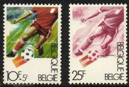 Belgium 1982 Mi. 2093 2097 MNH, Sports Soccer Player, Football, Fussball, Voetballen - Soccer