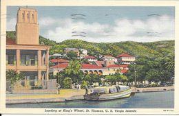 - AMERIQUE- Landing At King's Wharf St Thomas U S Virgin Islands - Vierges (Iles), Amér.
