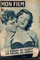 MON FILM ROMAN COMPLET 2 PAGES CENTRALES (LES AMOURS DE NOS VEDETTES) N° 227 LA CORDE DE SABLE - Cinema/ Televisione