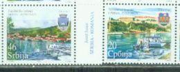 SRB 2007-228-9 DUNAV SHIPING, SERBIA, 1 X 2v, MNH - Serbien