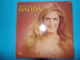 DALIDA 1976 LES PLUS GRANDS SUCCES DE DALIDA ALBUM 2 DISQUES 33 TOURS BARCLAY - Disco & Pop
