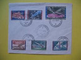 Enveloppe Exposition Universelle Bruxelles Belgique Tentoonstelling  19/7/158 - 1958 – Brüssel (Belgien)