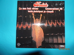 DALIDA 1978 DISQUE 33 TOURS AVEC BRUNO GUILLAIN CA MA FAIT REVER GENERATION 78 VOILA POURQUOI JE CHANTE ORLANDO - Disco & Pop