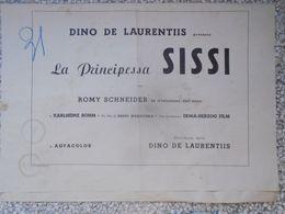 Busta Per Fotobuste La Principessa Sissi Con Romy Schneider Karlheinz Bohm Regia Ernst Marischka - Manifesti & Poster