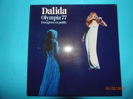 DALIDA RECITAL 1977 OLYMPIA ENREGISTRE EN PUBLIC LE MERCREDI 5 JANVIER 1977 DISQUE 33 TOURS ORLANDO - Disco & Pop