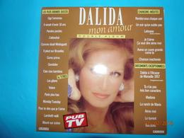 DALIDA 1989 CHANSONS INEDITES DOCUMENTS EXCEPTIONNELS LES PLUS GRANDS SUCCES DOUBLE ALBUM 33 TOURS ORLANDO - Disco & Pop