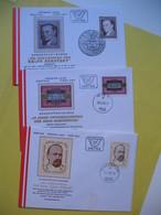 FDC   République Autriche 1984 Et 1985 Lot De 3 - FDC
