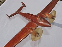 SUPERBE MAQUETTE AVION FRANCE Années 1930 - POTEZ 630 - à Voir ........... - Commercial Aviation
