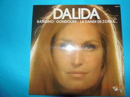 DALIDA BAMBINO GONDOLIER LA DANSE DE ZORBA DISQUE 33 TOURS BARCLAY - Disco & Pop