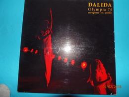 DALIDA 1974 OLYMPIA ENREGISTRE EN PUBLIC LE 15 JANVIER 1974 DISQUE 33 TOURS SONOPRESSE - Disco & Pop