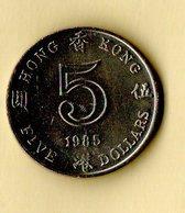 5 Dollars - Hong Kong - 1985 - Hong Kong