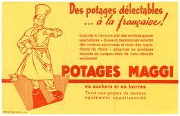 Po Ma/Buvard Potage Maggi (N= 5) - Potages & Sauces