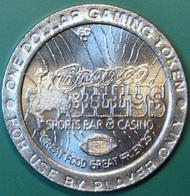 $1 Casino Token. Bronco Billy's, Black Hawk, CO. J32. - Casino