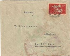 FRIEDENSVERTRAG C. 10 - PORRENTRUY 09/10/1919 - MICHEL CATALOG 147 - Brieven En Documenten