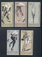 Burundi, 1964, Olympic Winter Games Innsbruck, Sports, MNH, Michel 80-84A - Non Classés