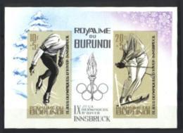 Burundi, 1964, Olympic Winter Games Innsbruck, Sports, MNH Imperforated, Michel Block 3B - Non Classés
