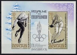Burundi, 1964, Olympic Winter Games Innsbruck, Sports, MNH, Michel Block 3A - Non Classés