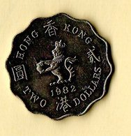 Two Dollars - Hong Kong - 1982 - Hong Kong