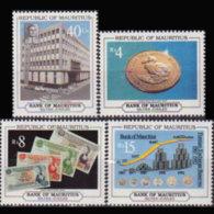 MAURITIUS 1992 - Scott# 760-3 Bank Set Of 4 MNH - Mauritius (1968-...)