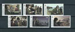 2009 Alderney Complete Set Sherlock Holmes MNH/Postfris/Neuf Sans Charniere - Alderney